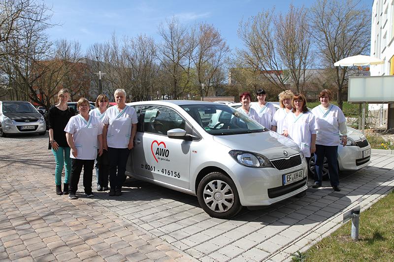 Häuslicher Pflegedienst - Team Erfurt